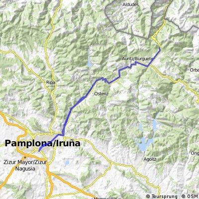 Pamplona-Roncesvalles-Pamplona
