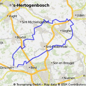 13-9-2015 (zo) Rondje langs Heeswijk Dinther