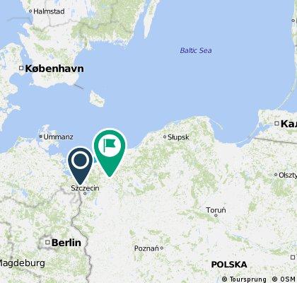 Polen R10 Swinemünde - Danzig Sommer 2015