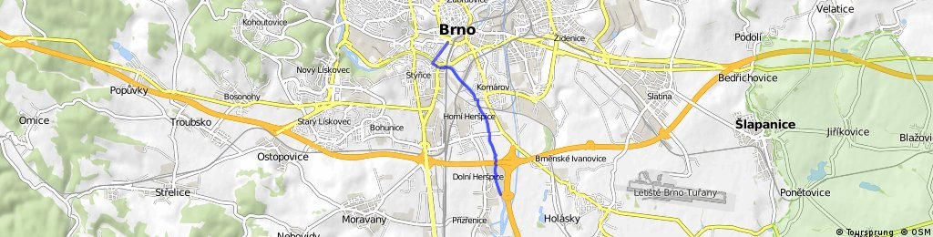 Běh - IKEA Brno, Modřice - Brno, Nové sady