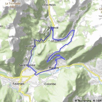 Alpes 2015 - Marlens - Sortie n°1
