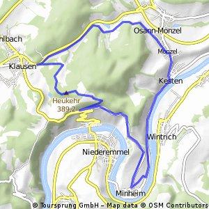 TÜV Nord Bildung Radreise 2016 Tag2 Plan A