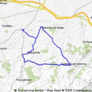 Salmoral-Malpartida-Cabezas-Mirueña-Gallegos