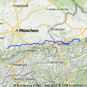 Grünau nach Murnau