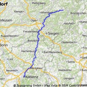 Team WEISSER RING on Tour 2015_4.Etappe_Schmallenberg-Koblenz