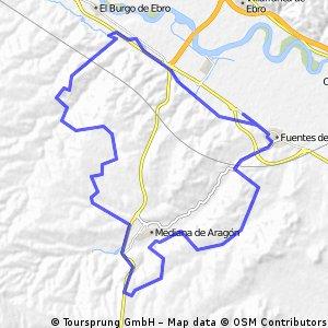 Ruta fuentes mediana (55km)