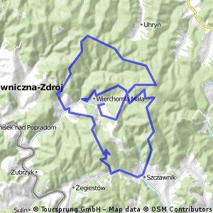 MEGA Maraton Rowerowy Cyklokarpaty.pl w Wierchomli 2015