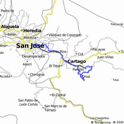 Day tour San Jose - Orosi