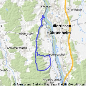 Bellenberg - Balzeim - Bellenberg