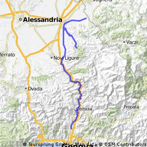 Nice - Slow - Stage 3 -  Genova - Giovi - Coppi - Tortona