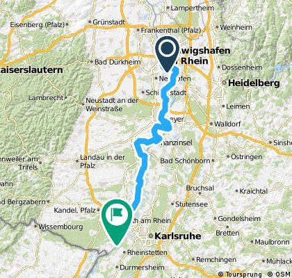 CYCLING THE RHINE: Route 16A