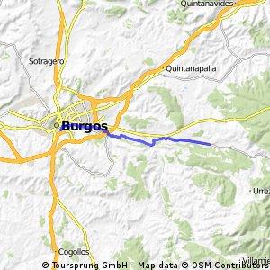 Arlanzón - Burgos centro (CeB)
