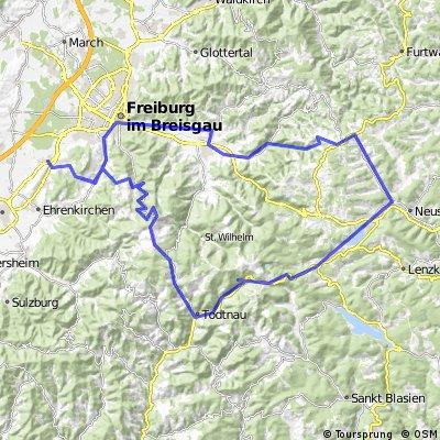 Buchenbach-Jostal-Feldberg-Schauinsland-Schönberg