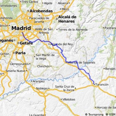 Etapa 11 - Madrid Tarancón