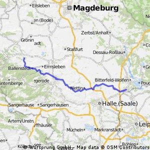 Von Roitzsch nach Quedlinburg