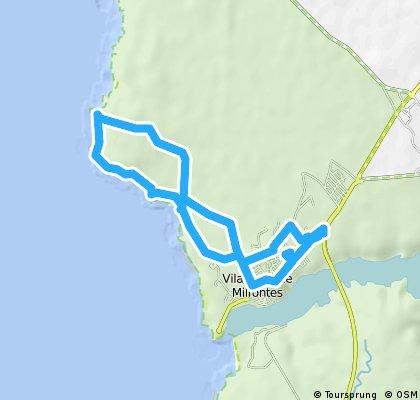 Stukje klippenloop, Portugal