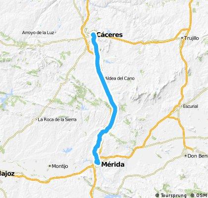 Mérida-Cáceres