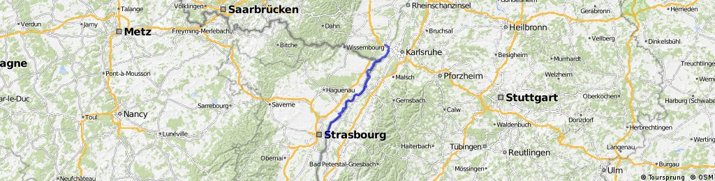 CYCLING THE RHINE: Route 17A