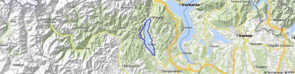 Tour du lac Etra