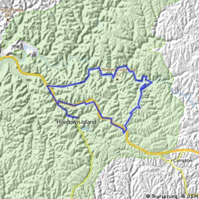 Gorge route