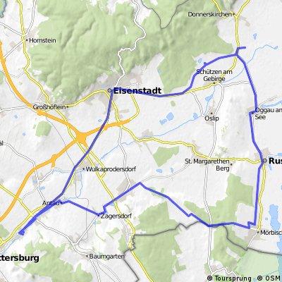 Mörbisch Oggau Eisenstadt Runde
