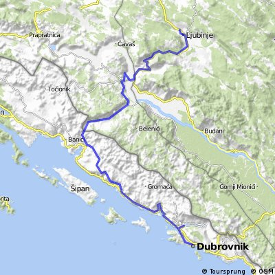 Tappa 4 Dubrovnik-Ljubinje