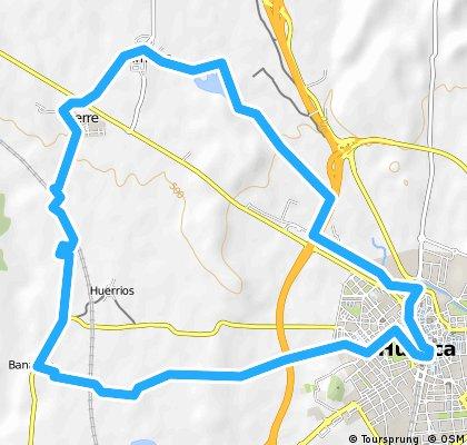 Huesca, Chimillas, Alerre, Banariés, ermita de Loreto, Huesca