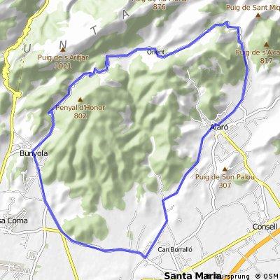 Einsteiger Tour Bunyola - Alaró