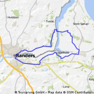 Cycling routes and bike maps in and around Randers Bikemap Your