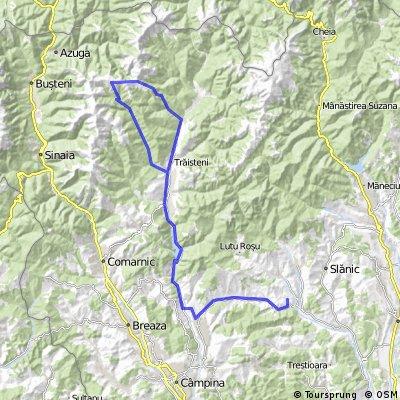 Alunis-Doftana-Traisteni-Lacul Orjogoaia-Vf.Stevia-Vf.Ceausoaia-Traisteni-Alunis