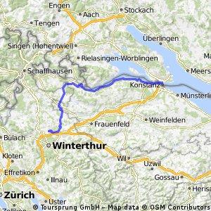 Bodensee - Stein am Rhein - Seuzach