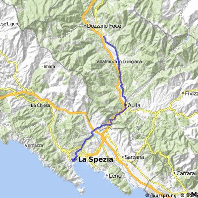 Pontremoli - La Spezia