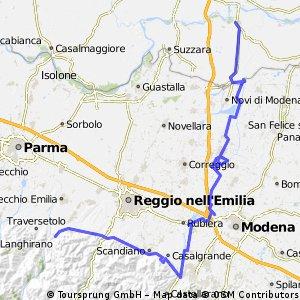 San Paolo d'Enza - San Benedetto