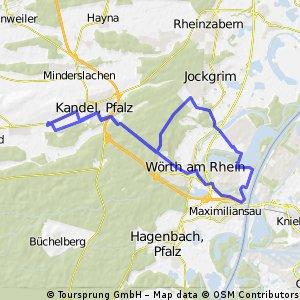 Singletrail Bochum Uni - Kemnade