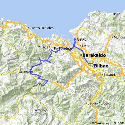 1.Etapa Bilbao-Balmaseda