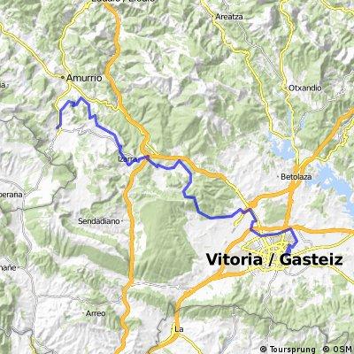 3.- Etapa Orduña-Vitoria/Gasteiz