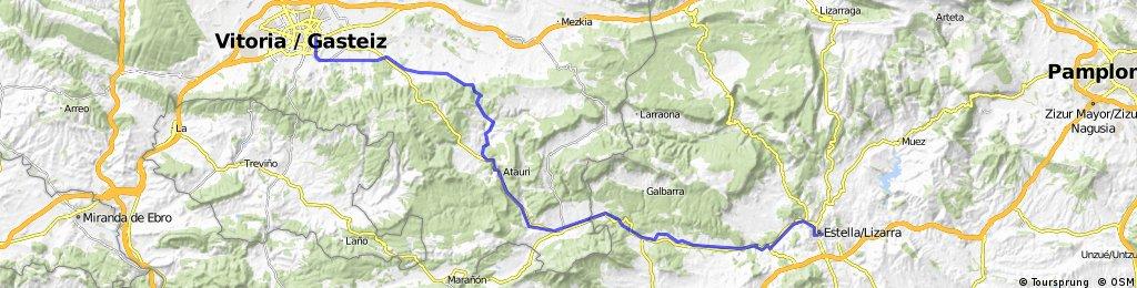 4.- Etapa Vitoria/Gasteiz-Estella