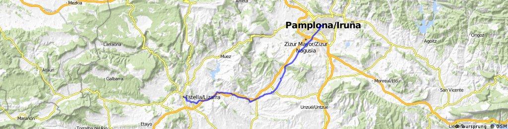 5.- Etapa Estella-Pamplona