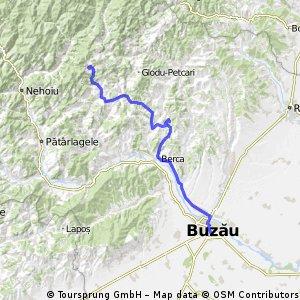 Buzau - Bratilesti (pe la vulcanii noroiosi)