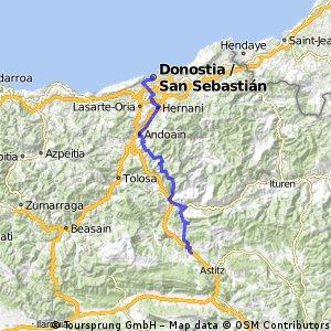 9.- Etapa Donostia.Lekunberri