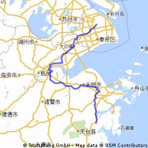 上海到宁海