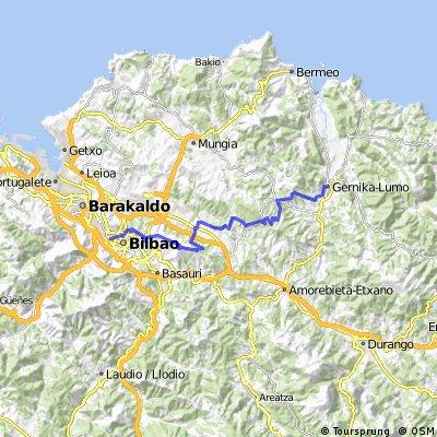 14.- Etapa Gernika-Bilbao