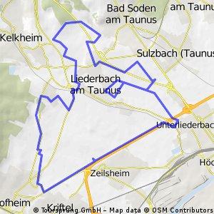 LIederbach - Hofheim - Abendrunde klein