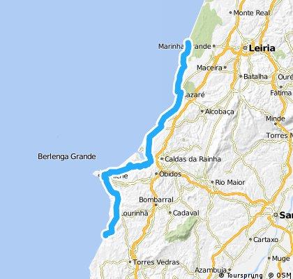 4. sao pedro de Moel - Porto Novo 100km