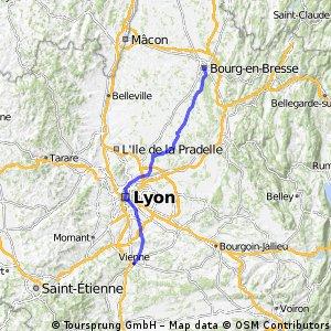 Bourg-en-Bresse - Vienne