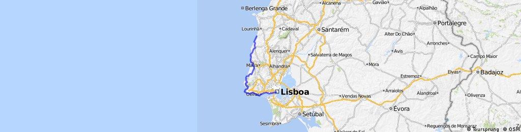 5. port novo - lissabon 107km