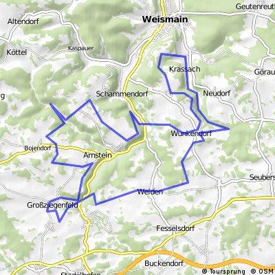 "MTB Weismain 001 ""Wallersberger Käbella"""