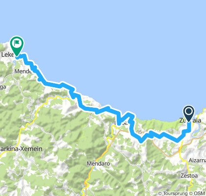 Second Stage From Zumaia to Lekeitio