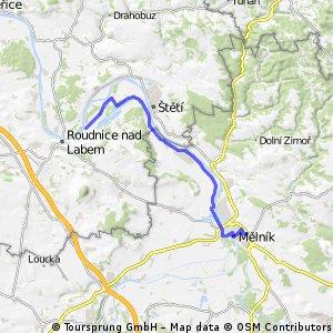 Fietsen van Praag naar Dresden etappe 2