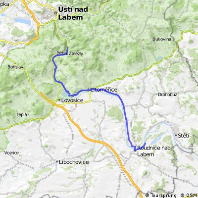 Fietsen van Praag naar Dresden etappe 3